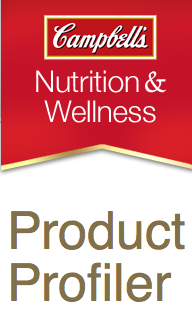 Campbell's Nutrition & Wellness Product Profiler