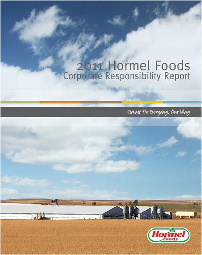 Hormel Foods Releases 2011 Corporate Responsibility Report