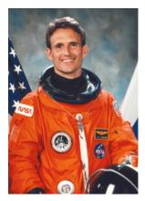 Astronaut Jerry Linenger