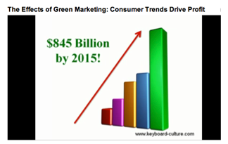 The Effects of Green Marketing: Consumer Trends Drive Profit