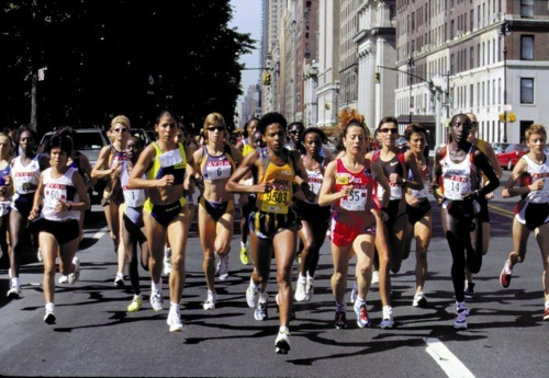 Elite Runners in New York 1999