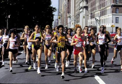 Elite Runners in New York 1999
