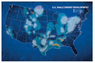 US shale energy development