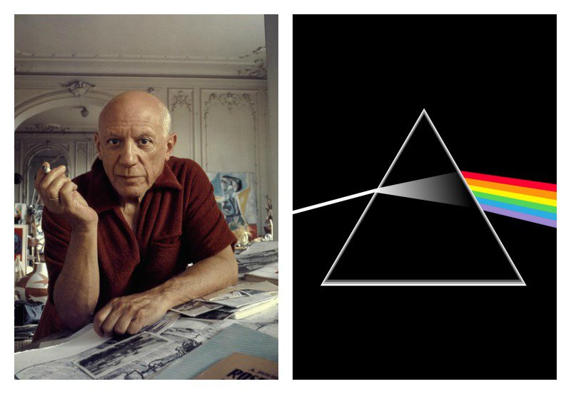 picasso dark side of the moon