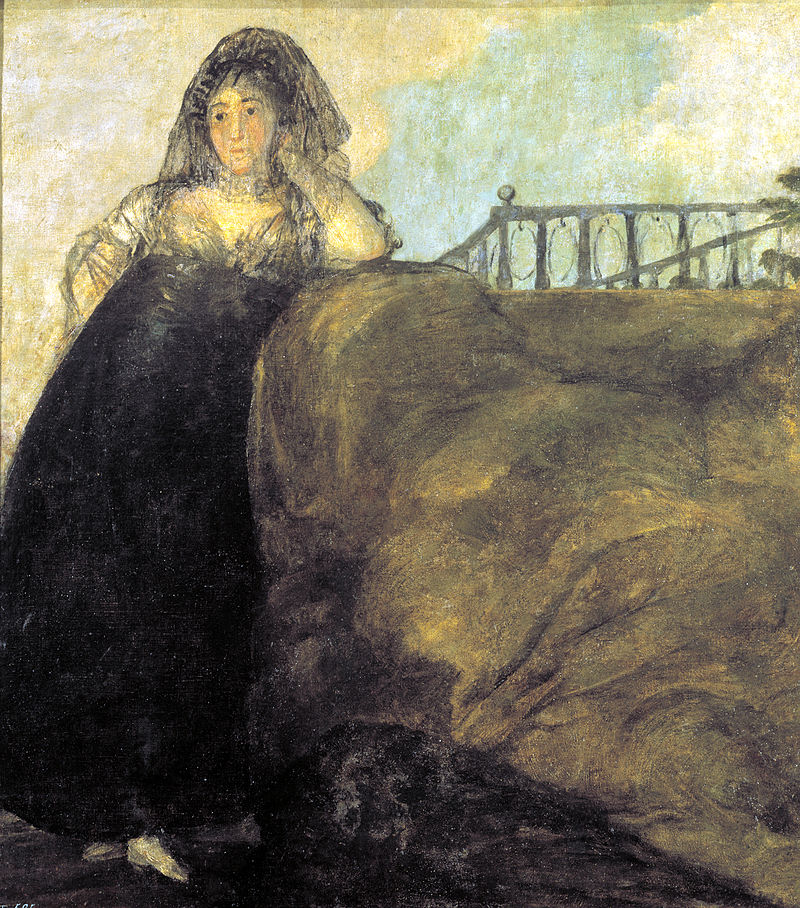 francisco de goya una manola