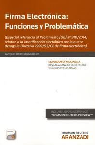 Firma electronica funciones y problematica
