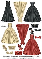 Evening Glamour Cut-outs 1