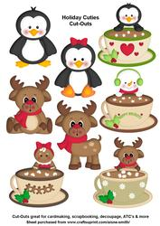 Holiday Cuties Cut-outs