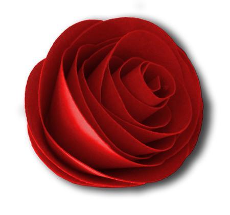 3D Paper Rose SVG