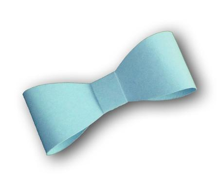 3D Ribbon Bow Template 2 - SVG File