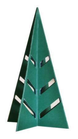 3D Accordion Fold Decor Tree SVG, PDF, DXF Files
