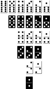 Dominos Set - SVG File