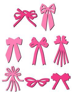 Ribbon Bow Set 2 - SVG File