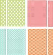 Polka Dots Backgrounds and Borders Set SVG File