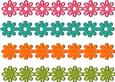 4 Floral / Flowers Borders