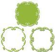 3 Way Ornate Artisan Frame and Mat Set 1 - SVG File