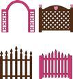 Gates Set - SVG File