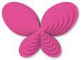 Nested Butterfly 1 - SVG File