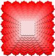 Nested Frame Tag Mat 3 - Square - SVG File