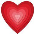 Nested Hearts - SVG File