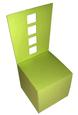 3D Miniature Chair Favor Box - for Wedding, Birthday - SVG