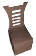 3D Miniature Chair Favor Box - for Wedding, Birthday - SVG