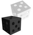 3D Dice Favour Box Template - SVG File