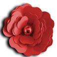 3D Rose - SVG File