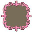 Fancy Ornate Frame 3 and Mat -SVG File
