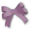 3D Ribbon Bow Template 3 - SVG File