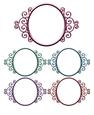 Princess Matallic Frames Set 4 - Png