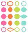 20 Versatile Tags, Mats, Lables,frames