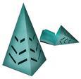 3D Christmas Tree Box - SVG Cutting File