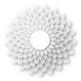 Delicate 3D Flower Topper Embelishment Png Format