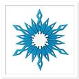 3D Accordion Fold Pleated Snowflake Decoration SVG, DXF,PDF