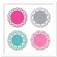 Doily Lace Frames SVG, PDF, DXF Files