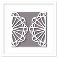 Doily Gate Fold Cut Out Card 3, SVG, DXF, PDF