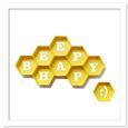 3D Beehive Honeycomb Frames SVG, PDF Format