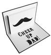 Father's Day Pop Up Card Template - SVG