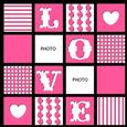 Mosaic Design - Love Page Layout Template