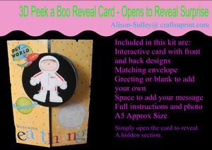 Gatefold Peekaboo Space Card Kit