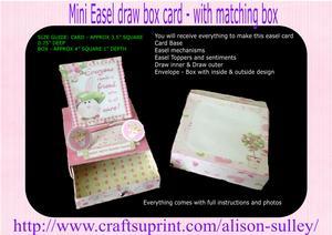 Bunny Hugs Easel Topper Draw Box Kit