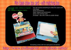 Workman Easel Topper Draw Box Kit