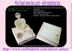 Ballet Easel Topper Draw Box Kit