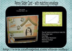 Penny Slider Birthday Card Kit