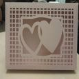 7x10 Multi Heart Lattice Box SVG