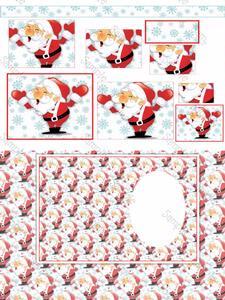 Super Cute Santa Christmas Kit