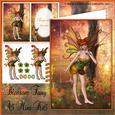 Autumn Blossom Fairy A5 Mini Kit