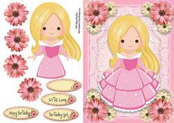 Beautiful Pretty in Pink Princess