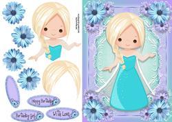Beautiful Blue Ice Queen
